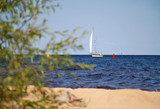 yacht on the lake - 231669562