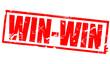 Win-win in red frame