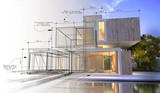 Design stages of luxury villa