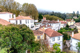 Colorful homes of Sintra, colorful town near Lisbon, Portugal - 231700907