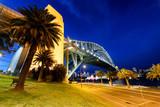 Night view of Sydney Harbor Bridge, Australia - 231701302
