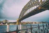 Night view of Sydney Harbor Bridge, Australia - 231701391