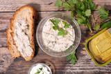 bread with fish spread - 231705184