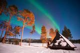 Northern lights, Aurora Borealis in Lapland, Finland - 231707179