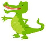 funny crocodile animal character - 231713317