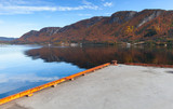 Concrete pier for ferry mooring, Norway - 231718146