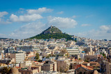Athens city view with Lycabettus hill - 231727571