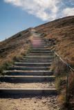 Bieszczady, ścieżki, schody, Tarnica