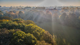 Fototapeta Rainbow - Fotografia z drona © Piotr