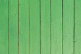 Wood plank green paint background - 231758988