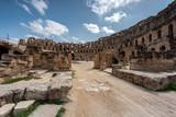 roman amphitheater in Tunis  - 231773950