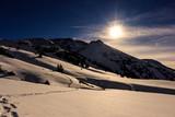 Hiking up Wetterhorn Peak in Winter, Colorado Rocky Mountains - 231775547