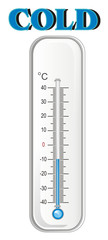 thermometer, degree, temperature, weather, celsius, scale, medicine, hydrometeorological center, cold, winter © Djessi85