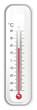 Leinwanddruck Bild - thermometer, degree, temperature, weather, celsius, scale, medicine, hydrometeorological center,