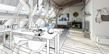 My place under the roof 03 (panoramic project) - 231825943