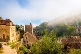 Saint Cirq Lapopie, Occitanie en France - 231830937
