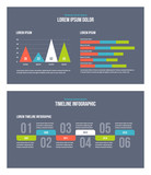 Vector business infographic presentation slides template No. 11. - 231837904