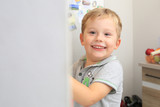 Happy three years old boy at home - 231840173