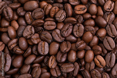 Poster Roasted coffee beans