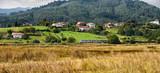 Tren cruzando la Reserva de la Biosfera del Urdaibai, Biscay, Basque Country, Euskadi, Euskal Herria, Spain, Europe - 231845397