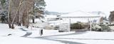 Oberon Common in winter snow