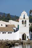 Vlacherna monastery Corfu island Greece