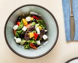 greek salad with feta - 231851104