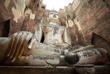 The big Buddha Phra Achana in Wat Si Chum - 231852569