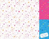 pattern swatch, sea of stars (pink). - 231853955