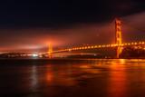 Golden Gate Bridge from Point Cavallo in San Francisco, California, USA