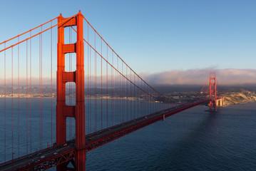Golden Gate Bridge from Battery Spencer in San Francisco, California, USA © NoraDoa
