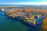Wisloujscie fortress at the river in Gdansk, Poland - 231876974