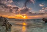 Rhodes Kato Petres Beach Glorious Sunset - 231892523