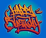Happy Birthday Graffiti Style