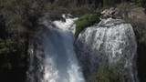 close shot of waterfall in south of Chile - 231894744