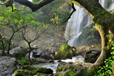 Beautiful waterfalls in the green forests of norther Thailand. Great waterfalls in Klonglan National Park.