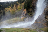 Waterfall Partschins, Partschins, Italy