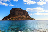 View of Monemvasia island in Greece - 231922909