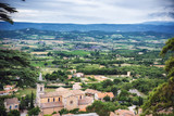 Cloudy provence
