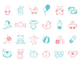 infant Icon set  - 231937578