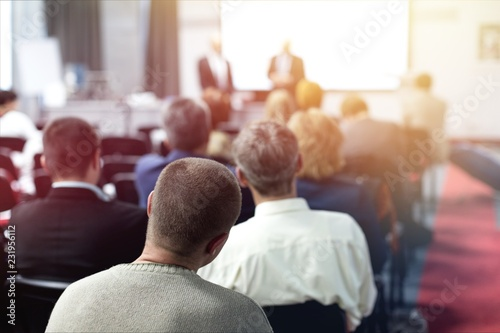 Konferencja seminarium szkoleniowe prezentacji biznesowych odbiorców