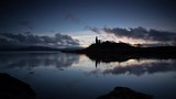 Stunning cinematic motion timelapse of a castle in Scotland - 231971971