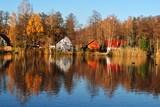 Pejzaż jesienny wsi - 231975527