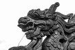 Imperial Dragon Statue in Hue, Vietnam
