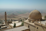 view of Syria through the dome of the mosque