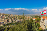 Zahle skyline cityscape  in Beeka valley Lebanon Middle east - 231994908