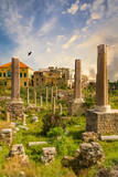 romans ruins  Tyre Sur in South Lebanon Middle east - 231994981