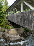 Covered Bridge over Turbulent water - 232003714