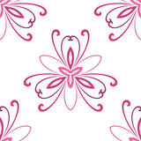 Floral vector colorful ornament. Seamless abstract classic background with flowers. Pattern with repeating floral elements. Ornament for fabric, wallpaper and packaging - 232015184