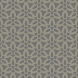 Seamless vector ornament. Modern gray and golden background. Geometric modern pattern - 232015735